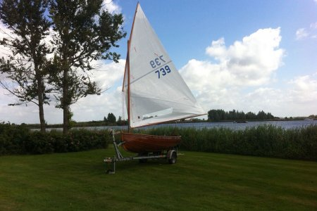 12-voetsjol Klasse, Open zeilboot 12-voetsjol Klasse te koop bij Jachtbemiddeling Sneekerhof