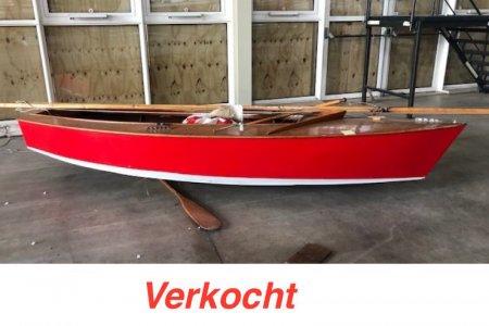 Houten Zeilboot Flits, Open zeilboot Houten Zeilboot Flits te koop bij Jachtbemiddeling Sneekerhof
