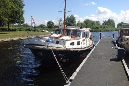 Vlakvlet 10.50, Motorjacht Vlakvlet 10.50 te koop bij Jachtbemiddeling Sneekerhof