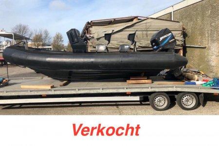RIB Duary, RIB en opblaasboot RIB Duary te koop bij Jachtbemiddeling Sneekerhof