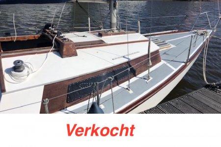 Waarschip 725, Zeiljacht Waarschip 725 te koop bij Jachtbemiddeling Sneekerhof