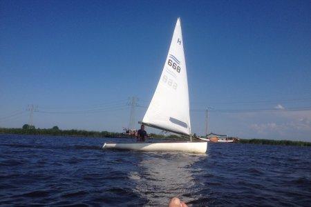Finnjol ,, Open zeilboot Finnjol , te koop bij Jachtbemiddeling Sneekerhof