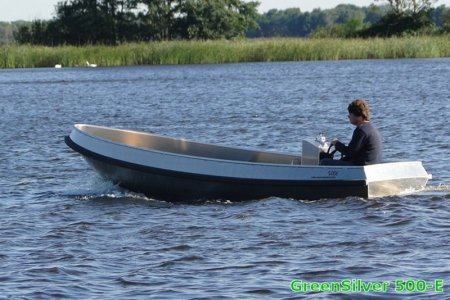 Greensilver 500-e, Open motorboot en roeiboot Greensilver 500-e te koop bij Jachtbemiddeling Sneekerhof