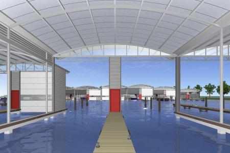Schiphuis 15.20 Mtr + Garage In Heeg, Motorjacht Schiphuis 15.20 Mtr + Garage In Heeg te koop bij Jachtbemiddeling Sneekerhof