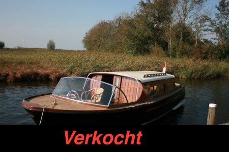 Authentieke Salonboot Kajuitsloep, Motorjacht Authentieke Salonboot Kajuitsloep te koop bij Jachtbemiddeling Sneekerhof