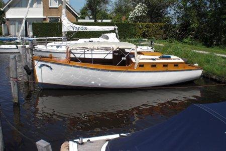 Klassiek Houten Salon Boot, Klassiek/traditioneel motorjacht Klassiek Houten Salon Boot te koop bij Jachtbemiddeling Sneekerhof
