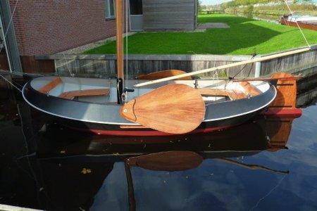 Stalen Tjotter, Open zeilboot Stalen Tjotter te koop bij Jachtbemiddeling Sneekerhof