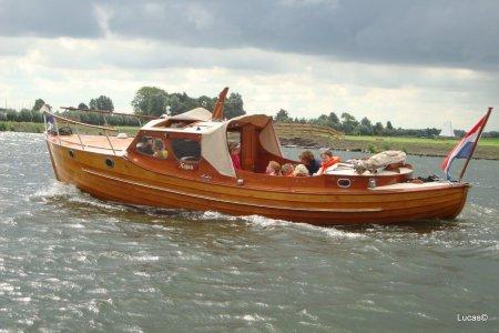 Amberg Sneepa, Klassiek/traditioneel motorjacht Amberg Sneepa te koop bij Jachtbemiddeling Sneekerhof