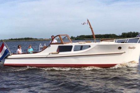 Bakdekker 850, Klassiek/traditioneel motorjacht Bakdekker 850 te koop bij Jachtbemiddeling Sneekerhof