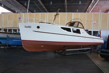 Bakdek Kruiser, Klassiek/traditioneel motorjacht Bakdek Kruiser te koop bij Jachtbemiddeling Sneekerhof