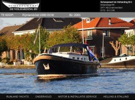 Rijnlandvlet 1000 OCW, Motorjacht Rijnlandvlet 1000 OCWde vânzareScheepswerf De Volharding bv
