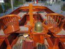 Teakhouten overnaadse Helderse vlet 750