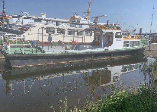 , Ex-commercial motor boat  for sale by BST Dintelsas
