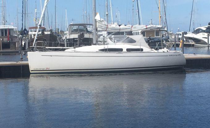 Salona 34, Zeiljacht for sale by GT Yachtbrokers