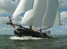 Hoekaak: Lemsteraak In Vissermanuitvoering, Bateau à fond plat et rond Hoekaak: Lemsteraak In Vissermanuitvoeringà vendre par Breitner Yacht Brokers