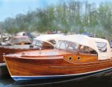 Pettersson Classic Wooden Cruiser, Traditionelle Motorboot Pettersson Classic Wooden Cruiser Zu verkaufen durch Classic Boats Amsterdam