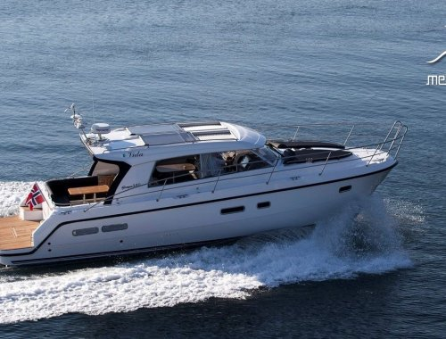 Saga 385 - Edition Walnut Interior, Motorjacht  for sale by Melior Yachts