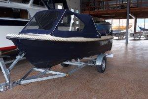 Nordcraft 430, Open motorboot en roeiboot  - Watersportbedrijf De Lits
