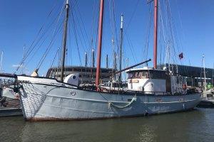 Kotter 21.50 Zeilkotter, Ex-professionele motorboot Kotter 21.50 Zeilkotter te koop bij Amsterdam Nautic