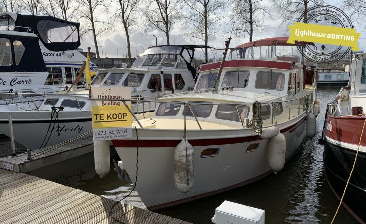 Ten Broeke Kruiser, Traditional/classic motor boat for sale by Lighthouse Boating