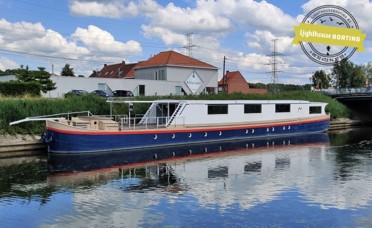 SPITS WOONBOOT 40m, Sailing houseboat for sale by Lighthouse Boating