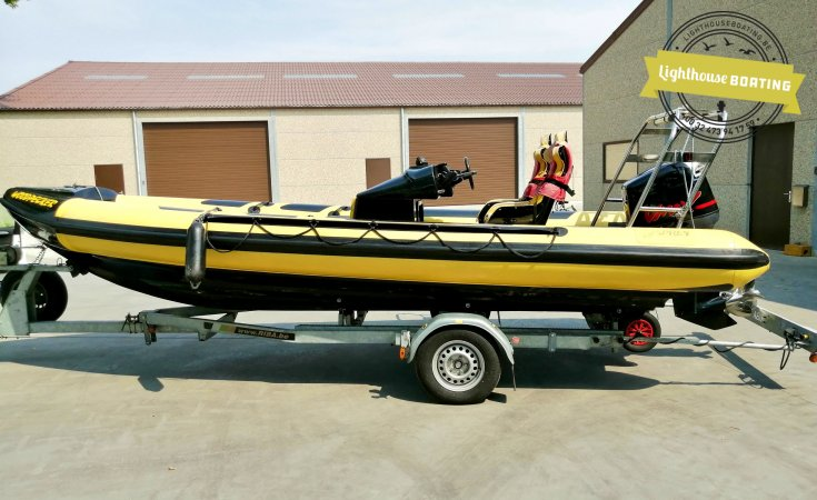 Osprey Seaharrier, RIB and inflatable boat for sale by Lighthouse Boating