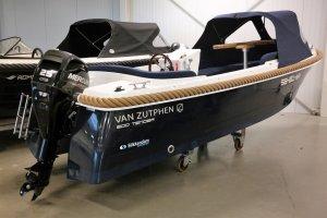 Van Zutphen 500 Tender Blauw Inclusief Mercury 25 Pk, Sloep Van Zutphen 500 Tender Blauw Inclusief Mercury 25 Pk te koop bij Slikkendam Watersport