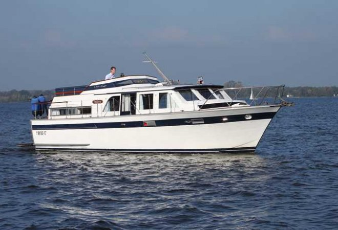 Chris Craft 40 for sale by SchipVeiling
