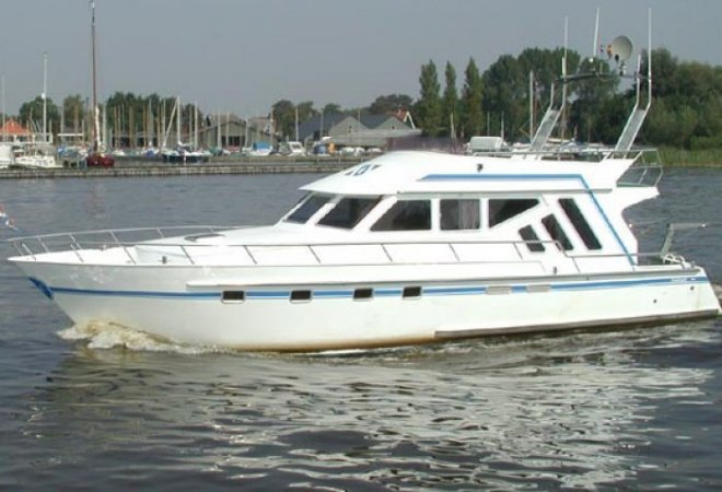 Funcraft Flybridge for sale by SchipVeiling
