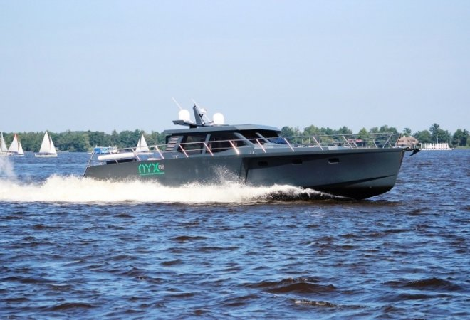 Aluminium Powerboat NYX 56 for sale by SchipVeiling