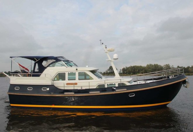 Linssen 470 AC MK II for sale by SchipVeiling