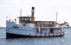 Vintage Passenger Steamship (Motoryacht), Klassiek/traditioneel motorjacht  for sale by SchipVeiling