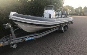 Falcon 760 Incl. Trailer, RIB and inflatable boat Falcon 760 Incl. Trailer te koop bij SchipVeiling