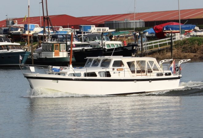 Lauwersmeer Kruiser 11.50 OK AK for sale by SchipVeiling