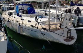 Oyster 47, Sailing Yacht  for sale by SchipVeiling