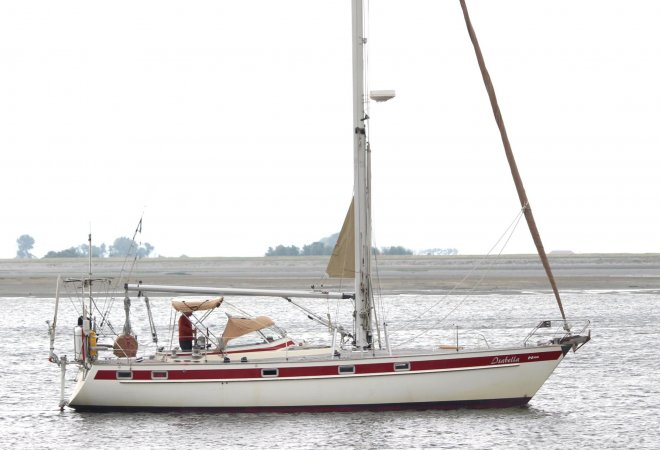 Najad 390 for sale by SchipVeiling