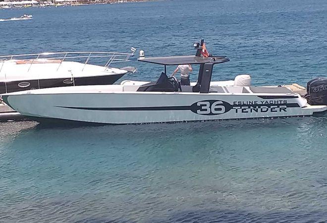 Esline Fast Tender 36, Motorjacht  for sale by YachtBid