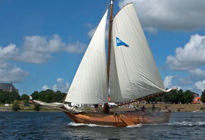 Willem Vos Schokker, Sailing Yacht  for sale by SchipVeiling