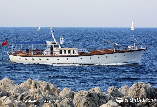 Classic Motor Yacht Philmarbe, Motorjacht  for sale by YachtBid