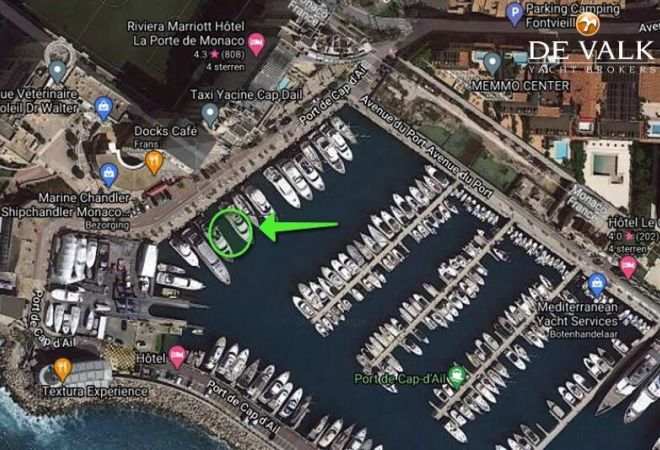 Berth 27 Meter CAP D'AIL France, Sailing Yacht  for sale by YachtBid