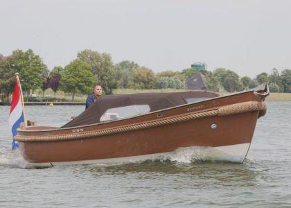 Van Wijk 830 Classic (snelvarend), Tender  for sale by Jachtmakelaar Monnickendam