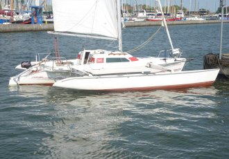 Dragonfly 800 Swingwing Racing, Multihull zeilboot Dragonfly 800 Swingwing Racing te koop bij Jachtmakelaar Monnickendam