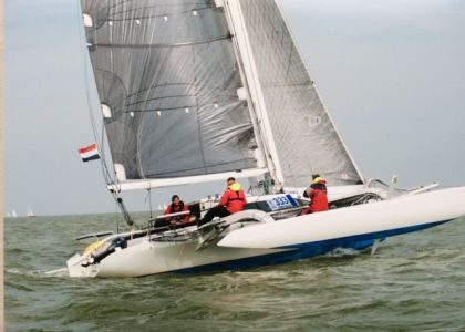 Farrier 35C, Multihull zeilboot  for sale by Jachtmakelaar Monnickendam