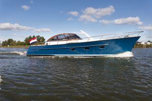 Rheben Exailor 45 Cabrio Hybride (DEMO BOOT), Motorjacht  for sale by Jachtmakelaardij Zuidwest Friesland