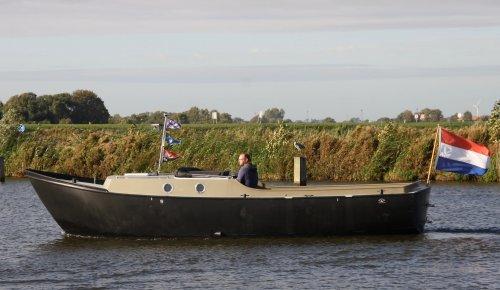 Matez Vlet 8.20 Grachtenboot, Sloep  for sale by Jachtmakelaardij Zuidwest Friesland