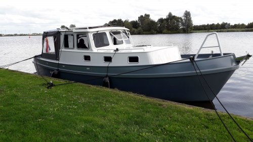 Stevenvlet Noardvlet, Motorjacht  for sale by Jachtmakelaardij Zuidwest Friesland