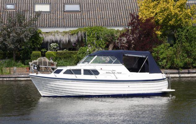 Sollux 760 Noorse Spitsgatter, Motorjacht  for sale by Jachtmakelaardij Zuidwest Friesland