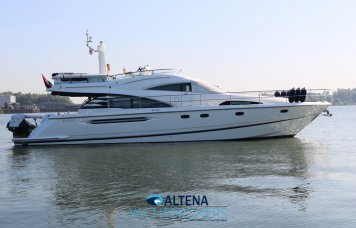 Fairline Squadron 58, Motorjacht  for sale by Altena Yachtbrokers