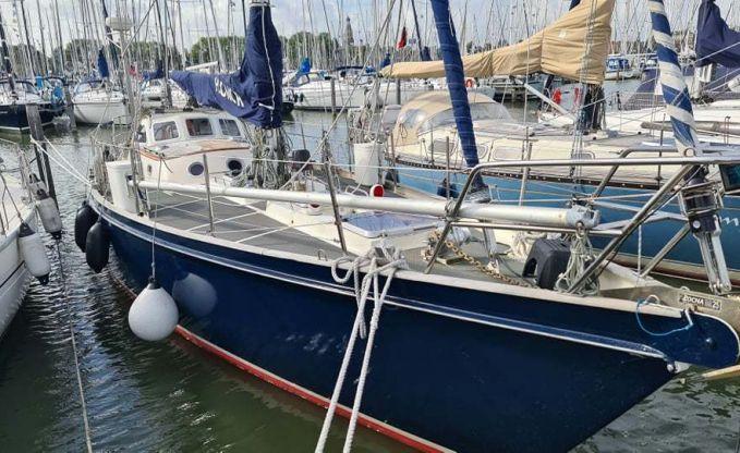 Koopmans Hutting 40, Zeiljacht for sale by Connect Yachtbrokers