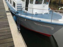Ex PARLEVINKER, Ex-Fracht/Fischerschiff  Ex PARLEVINKERZum Verkauf vonKriesels Shipbroker BV